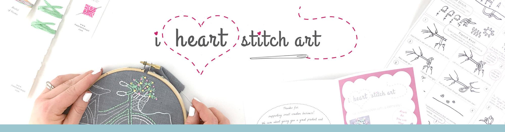 I Heart Stitch Art